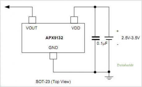 APX9132 circuits